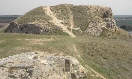 El Castillo del siglo XII que se usa como pista de Motocross