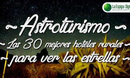Astroturismo: Casas rurales y hoteles para ver las estrellas
