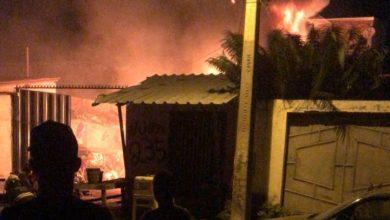 Photo of Incêndio de grandes proporções atinge ferro-velho no bairro Jurema