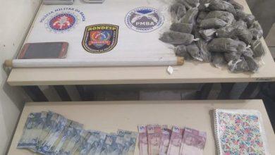 Photo of Homem é preso com drogas na mochila no bairro Kadija