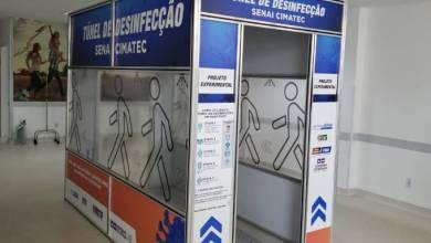 Photo of HCC e Hospital Geral de Conquista recebem túneis de desinfecção contra o coronavírus