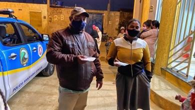 Photo of CICOM e Polícia Rodoviária Estadual fazem entrega de sopas, quentinhas e máscaras em Conquista