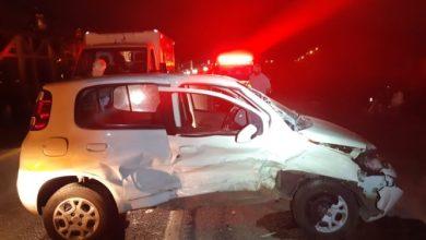 Photo of Dois carros se envolvem em acidente no anelviário de Conquista