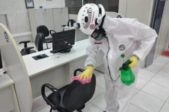Photo of Unidades do SAC recebem ação de desinfecção contra o coronavírus