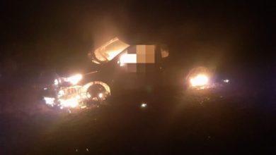 Photo of Próximo a Conquista: Carro é encontrado pegando fogo com corpo carbonizado