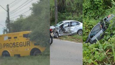 Photo of Acidente envolvendo carro-forte deixa feridos no sul da Bahia