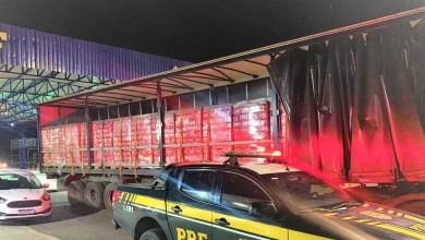 Photo of Caminhão carregado com mais de 79 mil latas de cerveja é apreendido em Conquista