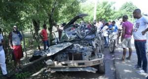 Cuatro muertos y cinco heridos en un choque en Fantino