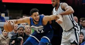 Karl-Anthony Towns sale ileso de un accidente de tráfico