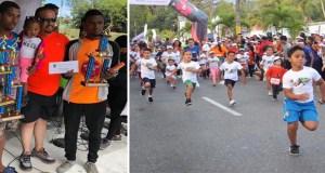 Alcaldía de Jarabacoa concluye con éxito el Maratón de la Montaña 2019