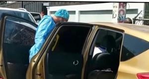 Encuentran hombre muerto dentro de un vehículo con un disparo