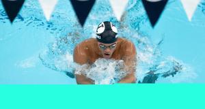 Josué Domínguez, primer nadador nacido en RD en competir en Campeonatos División 1 NCAA en USA