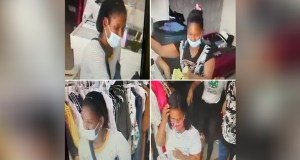 Ofrecen recompensa para identificar mujeres robaron tienda en Castillo