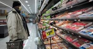EEUU reporta la mayor alza de precios de la comida en casi una década