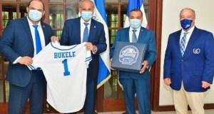Licey invita al presidente Bukele a hacer lanzamiento de honor