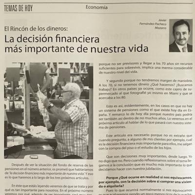 La decisión financiera más importante de nuestra vida –Siembra 406