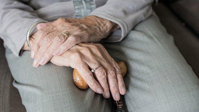 Día Mundial Alzheimer Anciano Foto