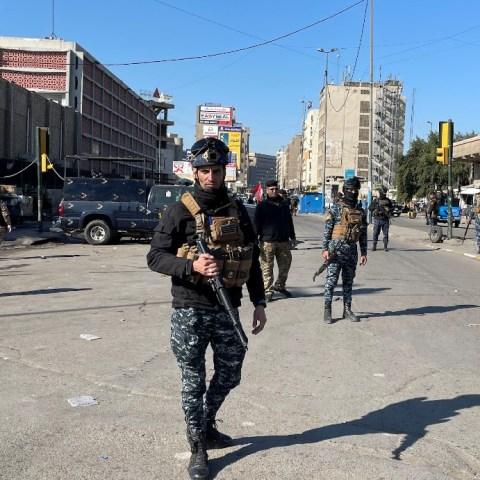 """Ataque """"suicida"""" en el centro de Bagdad deja varios muertos y heridos"""