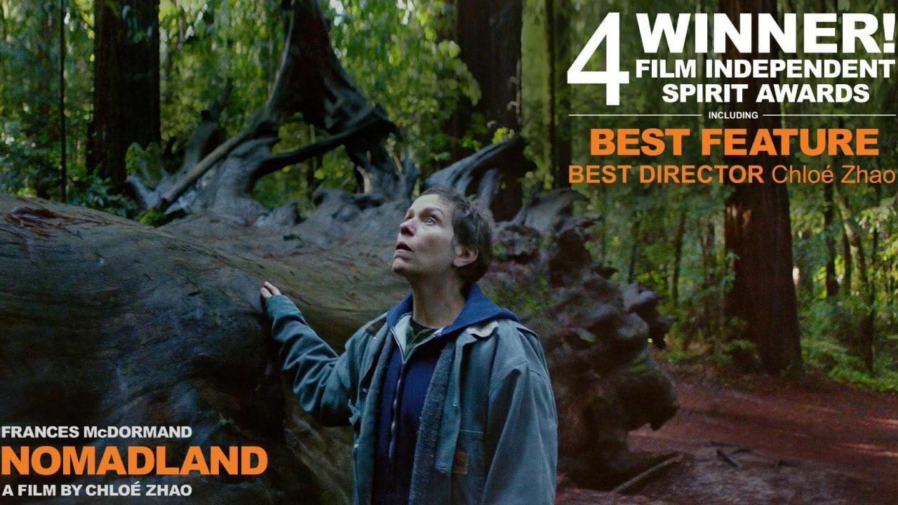 """""""Nomadland"""" arrasa en los premios Spirit y se acerca más al Oscar"""