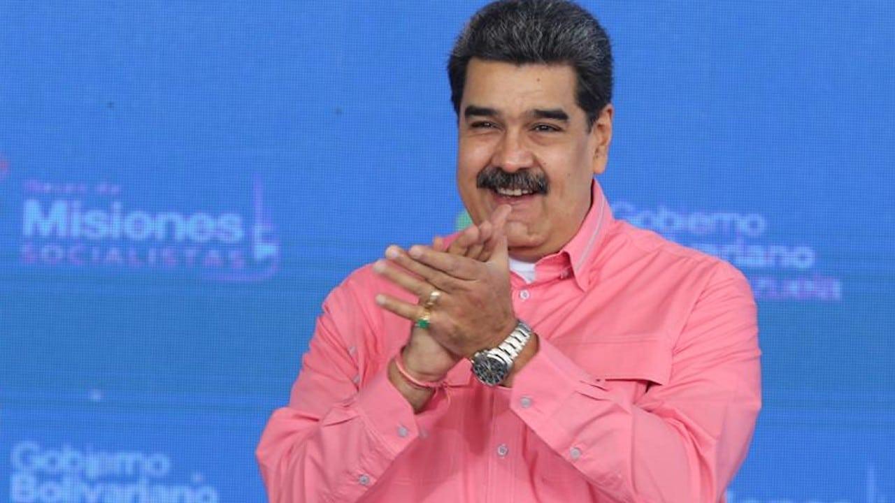 """Maduro: Agenda de diálogo con Guaidó incluirá """"rescate de recursos"""" de Venezuela"""