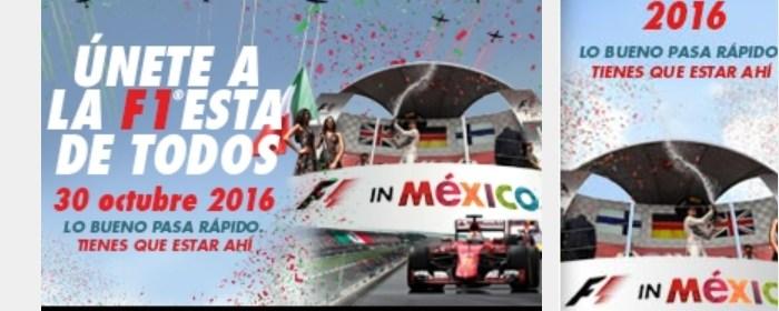 F1 boletos