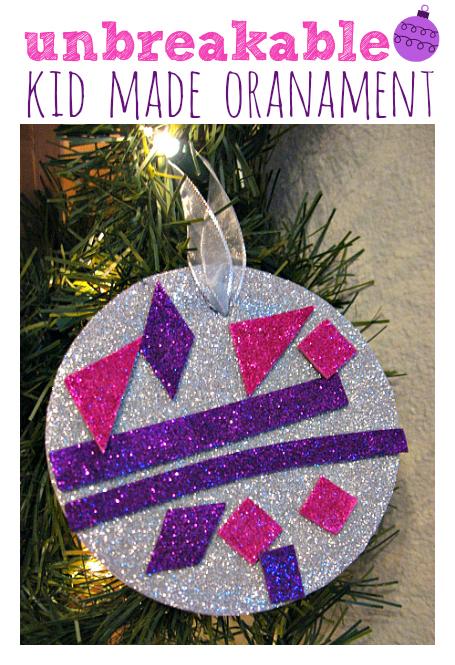 preschool christmas ornament crafts