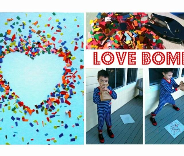 Love Bomb Valentines Day Craft