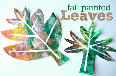 easy fall leaf craft