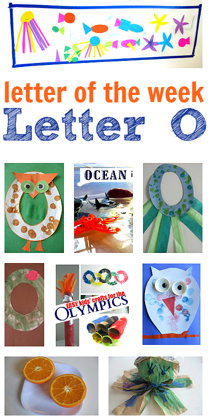 Letter Of The Week O Theme