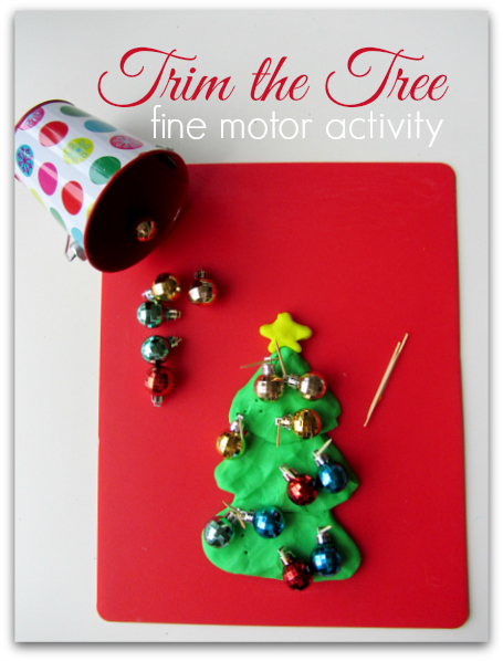 Trim The Tree Fine Motor Activity For Kids No Time For