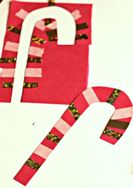 Easy Candy Cane Craft No Time For Flash Cards