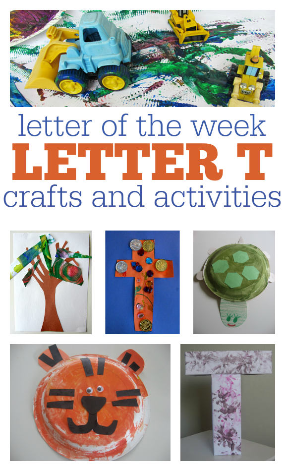 Letter Of The Week Letter T Theme No Time For Flash Cards