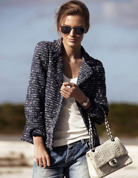 Moda primavera estate 2019: la giacca Chanel, un classico del guardaroba