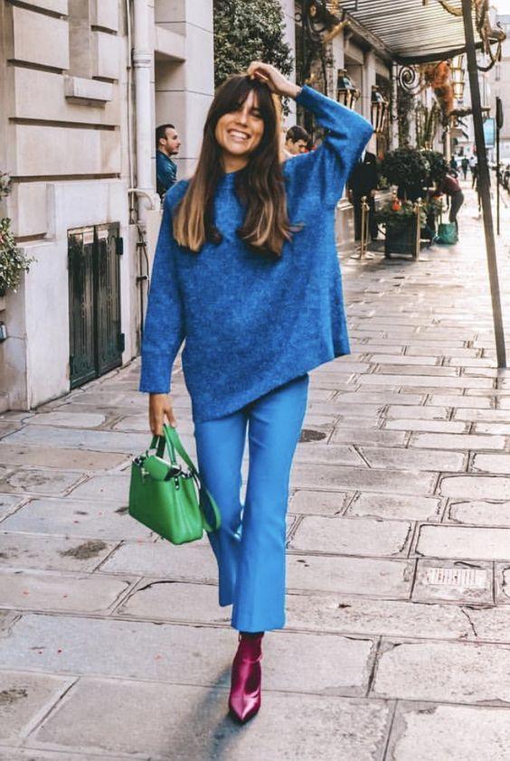 Vestirsi bene con poco - look monocromatico