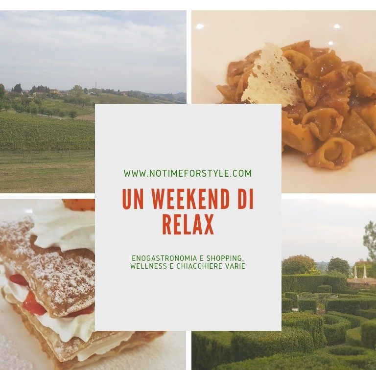 Weekend di relax: chiacchiere e appunti