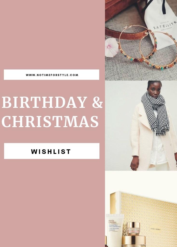 La mia lista dei desideri di compleanno / Natale
