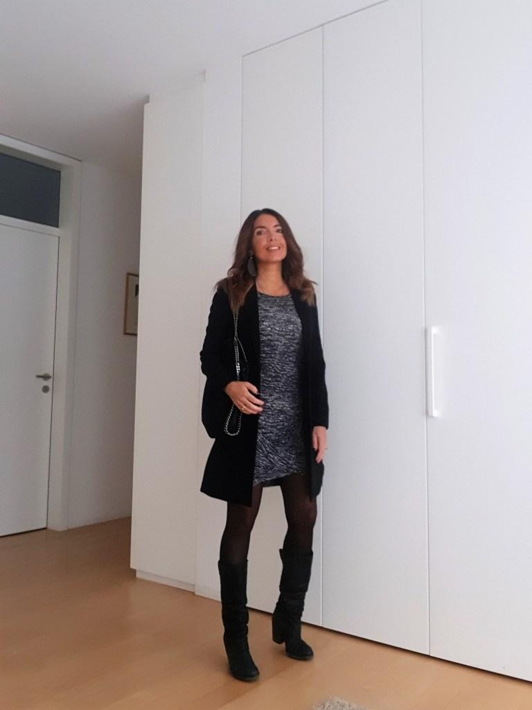 Outfit invernali: grigio e nero colori tristi?