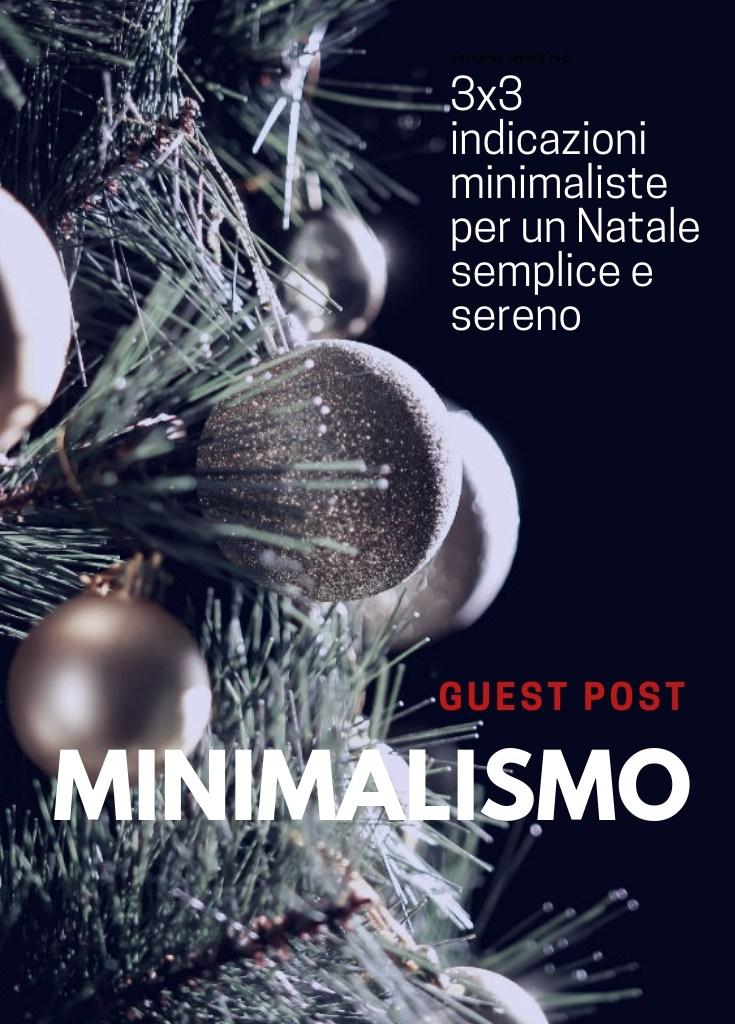 Indicazioni per un Natale minimal e rilassato