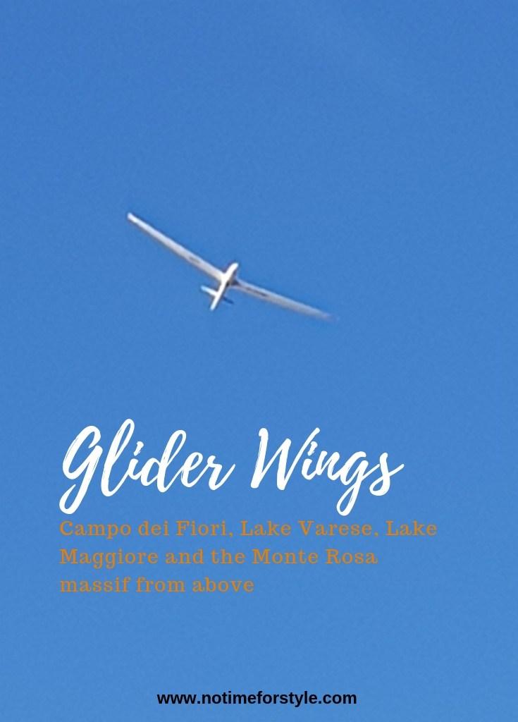 Sunday glider flight in Italy