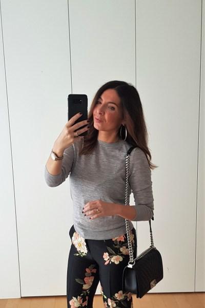 Pantaloni a fiori outfit