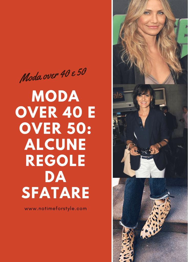 Moda over 40 e over 50: alcune regole da sfatare