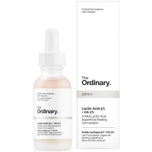 Recensione lactic acid the ordinary peeling dolce chimico
