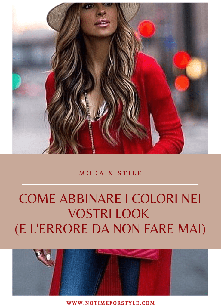 How to combine colors in fashion (and the one mistake you should avoidi)