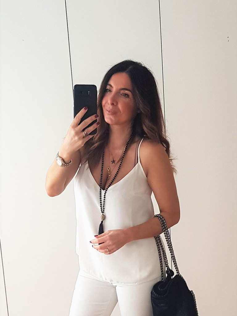 Summer Outfits: a Total White Look for a Night Out