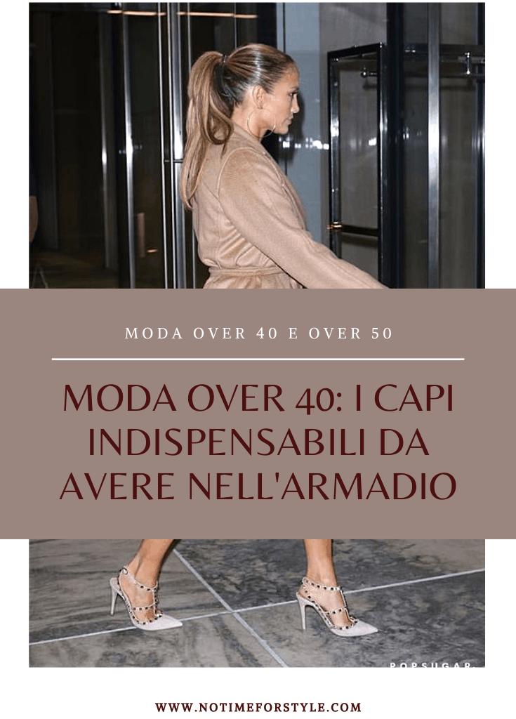 Moda over 40: i capi indispensabili da avere