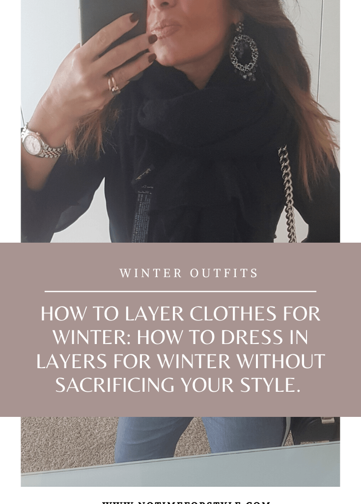 How to layer clothes for winter