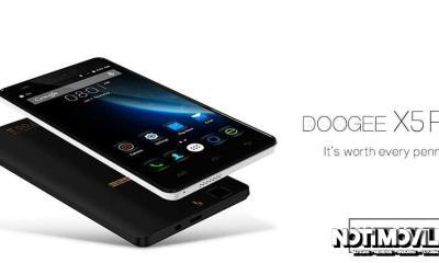 Asequible DooGee X5 Pro tiene pantalla HD
