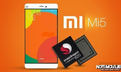 Xiaomi Mi5 Snapdragon 820 Seria Presentado el 3 de Diciembre