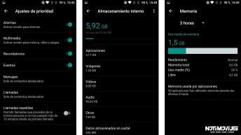 OnePlus 3 Review Interfaz de usuario