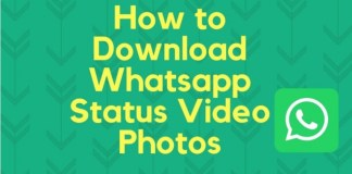 Download WhatsApp Status Videos and Photos of your Contacts